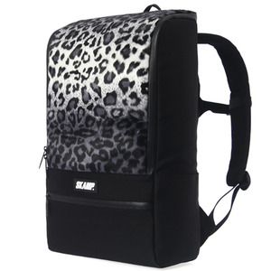 [SKAMP] Leopard H Backpack (Gray)