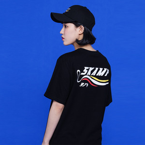 [SKAMP] 2018 SIGNATURE LOGO T-SHIRTS (BLACK)