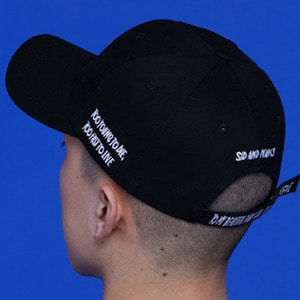 [SKAMP] SID VICIOUS BALLCAP (BLACK)