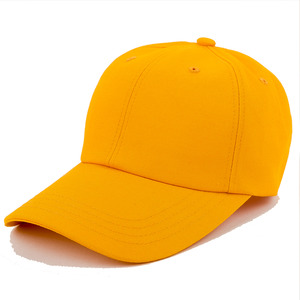 [SKAMP] 2018 BASIC BALLCAP (YELLOW)